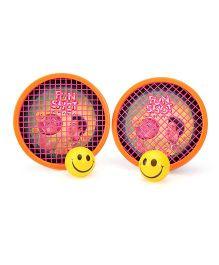 Ratnas Mini Fun Shot Hand Tennis Game - Orange