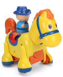 Funskool Tomy Clip Clop Cowboy - Yellow