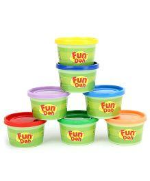 Fun Doh Funskool Rainbow Colors Pack of 7