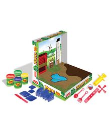 Fun Doh Funskool Fun Farm - Multi Color