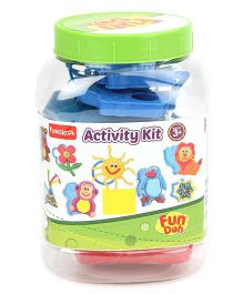 Fun Doh Funskool Activity Kit - Multi Color