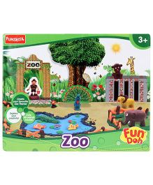 Fun Dough Funskool Zoo Themed Fun Doh Set