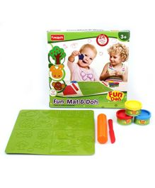 Fun Doh Funskool Fun Mat And Doh Set