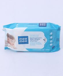 Mee Mee Caring Baby Wet Wipes - 30 Pieces
