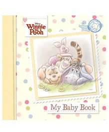 Disney Winnie the Pooh Baby Record Book - English