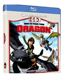 How To Train Your Dragon 3D Blue Ray Disc - English