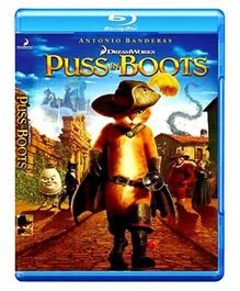 Puss In Boots Blu-ray Disc - English