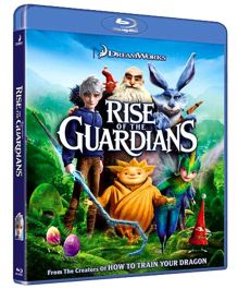Rise of The Guardians Blu-ray Disc - English