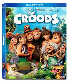 The Croods Blu-ray Disc And DVD Set of 2 - English