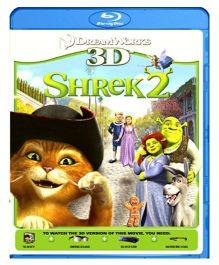 Shrek 2 3D Blu-ray Disc - English