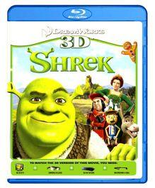 Shrek 3D Blu-ray Disc - English