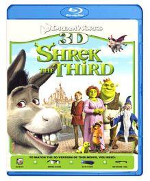 Shrek The Third 3D Blu-ray Disc - English