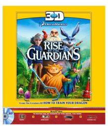 Rise of The Guardians 3D Blu-ray Disc - English