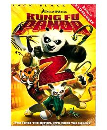 Kung Fu Panda 2 DVD - English