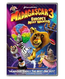Madagascar 3 Europe's Most Wanted DVD - English