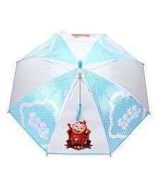 Babyhug Kids Umbrella Coco Mong2 Print - Blue