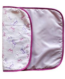 Kadam Baby Daiper Changing Mat Butterfly Print - Purple