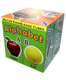Macaw Knowledge Cubes Alphabet - English