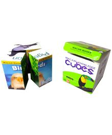 Macaw Knowledge Cubes - Birds