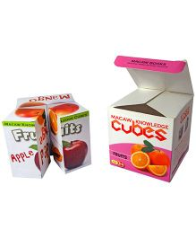 Macaw Knowledge Cubes - Fruits
