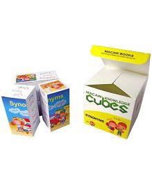 Macaw Grammar Cubes - Synonyms