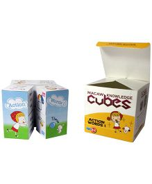 Macaw Grammar Cubes - Action Words I