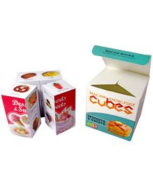 Macaw Early Learning Cubes - Deserts And Sweets