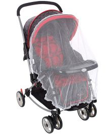 Infanto Jazz Multifunction Stroller Cum Pram Red - IN-02