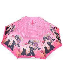 Babyhug Umbrella With Print - Pink