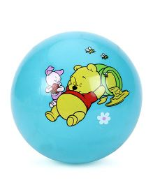 Disney Winnie The Pooh Print Kids Ball - Sky Blue