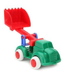 Viking JCB Truck Toy - Green And Red