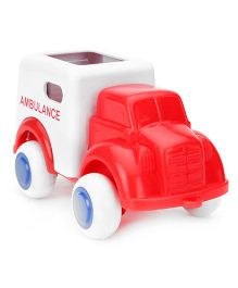 Viking Ambulance Toy - White And Red