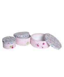 Abracadabra Round Storage Boxes - Pappilion