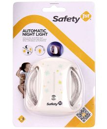 Safety 1st Automatic Night Light - White
