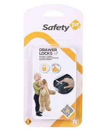 Safety 1st Drawer Locks Pack Of 7  - White