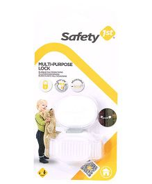 Safety 1st Multi Purpose Lock - White