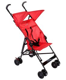 Safety 1st Peps And Can Lightweight Stroller -  Plain Red