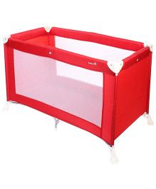 Safety 1st Travel Cot Bassinet Soft Dreams - Red