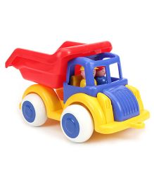 Viking Tipper Truck With 2 Figures - Blue And Red