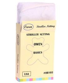 Owen Stroller Netting - Light Purple