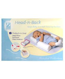 Owen Head And Back Sleep Positioner - White