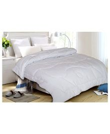 St.Cloud White Anti Radiation Single Quilt