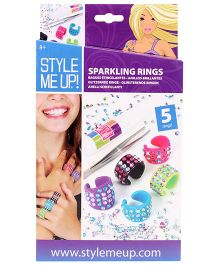 Style Me Up Sparkling Jewel Rings