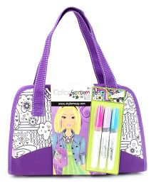 Style Me Up Deluxe Purse - Purple
