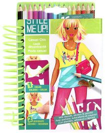 Style Me Up Sketchbook-to-Go Urban Chic