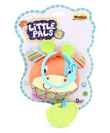Little Pals Patch the Giraffe Hand Rattle