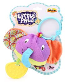 Little Pals Round Timber the Elephant Hand Rattle