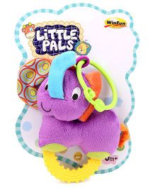 Little Pals Timber the Elephant Hand Rattle