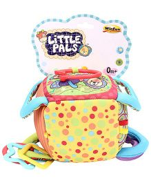 Little Pals Cube Mobile Soft Toy Rattle