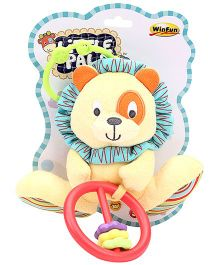 Little Pals Caesar the Lion Hand Rattle Crinkle Sound